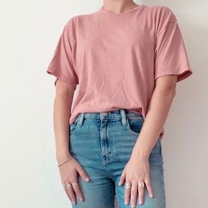 Brandy Melville boxy cropped tee
